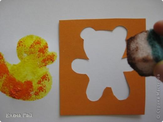 Нарисуйте свои любимые игрушки используя обычную губку и краски))))))))))))))) фото 4