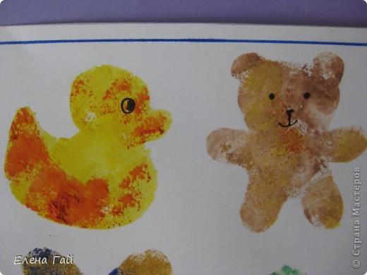 Нарисуйте свои любимые игрушки используя обычную губку и краски))))))))))))))) фото 6
