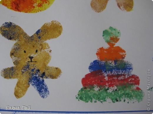 Нарисуйте свои любимые игрушки используя обычную губку и краски))))))))))))))) фото 7