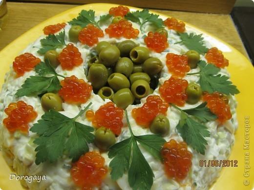 Очень нарядный и вкусный салат! фото 10