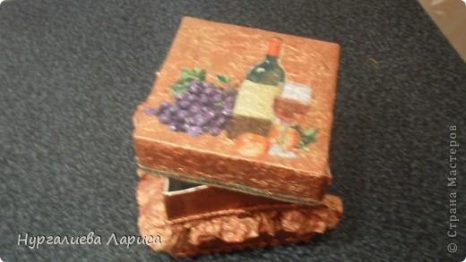 Такую вот коробочку я сделала под мелочи,но.... фото 7
