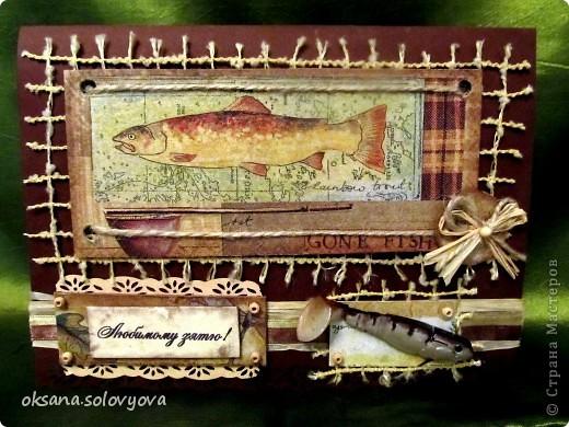 Здравствуйте милые Мастерицы, я опять к вам с открыточкой и конвертом для денежки. Правду говорят... как корабль ты назовешь так он и поплывет...вот и я сделала первый шаг в скрапе с мужской открытки  и ...опять нужна мужская открытка, а так хочется цветочков, бабочек, кружавчиков.. фото 2