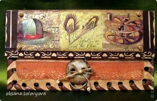 Здравствуйте милые Мастерицы, я опять к вам с открыточкой и конвертом для денежки. Правду говорят... как корабль ты назовешь так он и поплывет...вот и я сделала первый шаг в скрапе с мужской открытки  и ...опять нужна мужская открытка, а так хочется цветочков, бабочек, кружавчиков.. фото 6