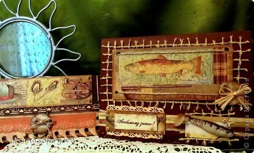 Здравствуйте милые Мастерицы, я опять к вам с открыточкой и конвертом для денежки. Правду говорят... как корабль ты назовешь так он и поплывет...вот и я сделала первый шаг в скрапе с мужской открытки  и ...опять нужна мужская открытка, а так хочется цветочков, бабочек, кружавчиков.. фото 10