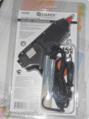 Дорогие мастерицы скажите ваше мнение, вот такой пистолет у меня появился! мой пистолет замкнул, муж привез этот подарил!! низнаю как он??? такой большой, у кого такой напишите . фото 3
