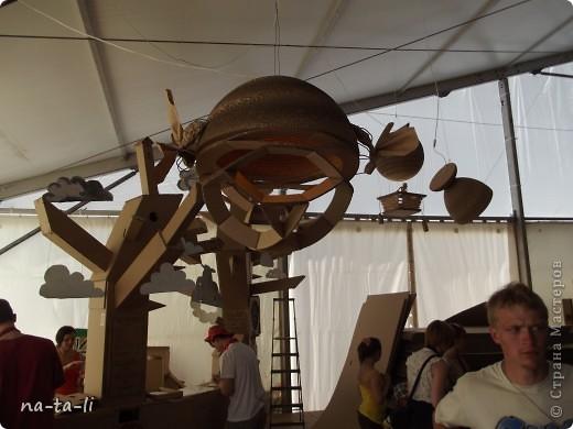 Второй год в нашем городе, в рамках фестиваля «Белые ночи в Перми» происходит интересное событие – Страна Картония, «Картон- на-Каме» или как в этом году «КартоноКамск» фото 15