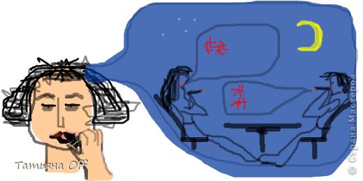 """Наводила ревизию в своем компе.Наткнулась на рисунки,сделанные в Paint.Мы с подругой перекидывались ими,загадывая в каждом какую-то песню.Это,к примеру,Иванушки Int. """"Снегири"""".Лично нам во время угадывания было очччень весело.Предлагаю и Вам немного поразвлечься :) З.Ы.По мере угадывания картинки будут подписаны.Удачи))) фото 10"""
