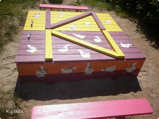 """Клумба""""Лебедь"""", в этом году добавили камыши и лотос из пластиковых ложек(прошлогодние и цветущие у меня в блоге) фото 5"""