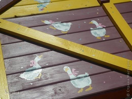 """Клумба""""Лебедь"""", в этом году добавили камыши и лотос из пластиковых ложек(прошлогодние и цветущие у меня в блоге) фото 6"""