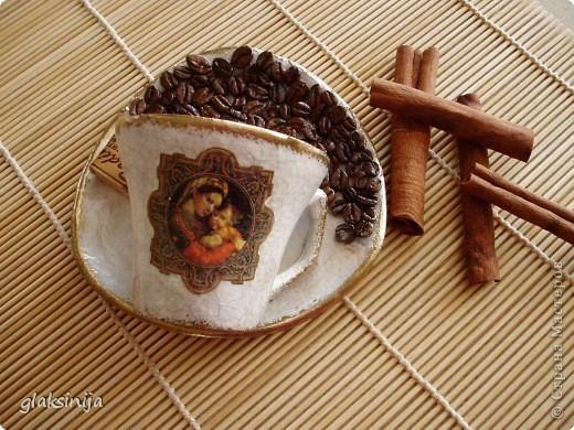 Венецианская миниатюра(декупажная карта,яичная скорлупа,2х шаговый кракелюр,бронзовая пудра,лак) фото 4
