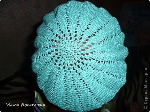 Продолжается моя страсть к вязанию головных уборов. фото 1
