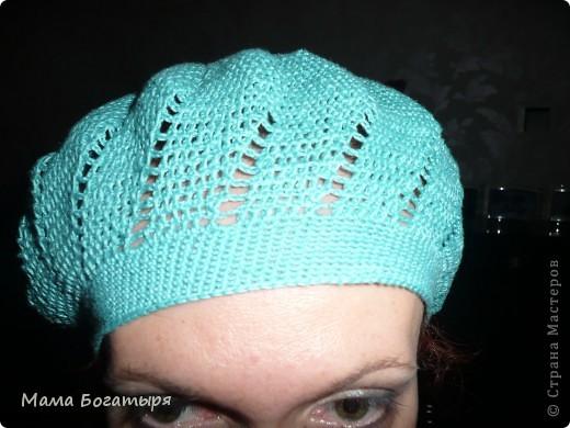 Продолжается моя страсть к вязанию головных уборов. фото 7