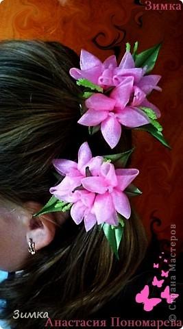 """Обруч для волос """"РОЗОВЫЙ ВЕЧЕР"""" фото 28"""