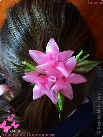 """Обруч для волос """"РОЗОВЫЙ ВЕЧЕР"""" фото 31"""