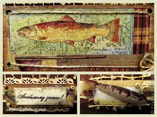 Здравствуйте милые Мастерицы, я опять к вам с открыточкой и конвертом для денежки. Правду говорят... как корабль ты назовешь так он и поплывет...вот и я сделала первый шаг в скрапе с мужской открытки  и ...опять нужна мужская открытка, а так хочется цветочков, бабочек, кружавчиков.. фото 4