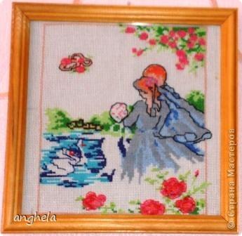 Картины, вышитые крестом фото 2