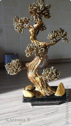 Деревья из бисера фото 4