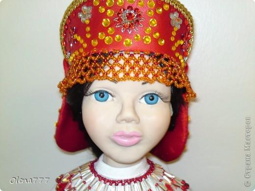Доброго дня и ночи Страна Мастеров! Хочу показать вам свою вторую куклу из пластика. Рост 34см. Голова и руки из Living Doll. Тело и ноги - проволочный каркас, синтепон, капрон. Что у меня получилось-судить вам, уважаемые Мастера и Мастерицы. Я только учусь. фото 11