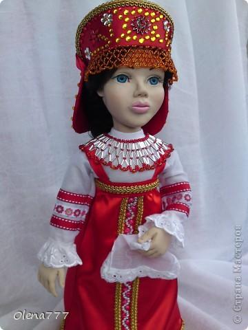 Доброго дня и ночи Страна Мастеров! Хочу показать вам свою вторую куклу из пластика. Рост 34см. Голова и руки из Living Doll. Тело и ноги - проволочный каркас, синтепон, капрон. Что у меня получилось-судить вам, уважаемые Мастера и Мастерицы. Я только учусь. фото 4