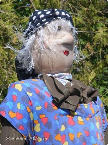 Попросили для садика какую-нибудь поделку, вот сварганила Бабку-ежку. фото 2