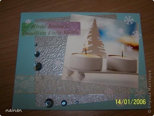 """Делала года 2 назад, пока так и лежит в шкатулочке для открыток, не было случая подарить :)) Ждет хозяина :)) Слишком крупная по размеру, не влезает в конверт :)) Поэтому и лежит до времен """"неконвертного"""" вручения! фото 18"""