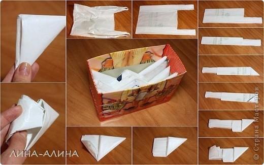 Просто коробочка для хранения пакетов фото 2