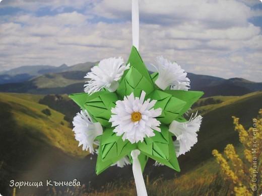 """Кусудамы """"Полевые цветы""""  фото 4"""