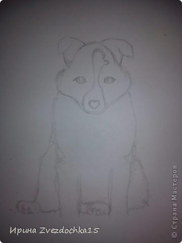 Срисовывала с картинки в интернете. Честно говоря я не очень красками рисую. По душе простой карандаш. Но решила попробовать и срисовать что-нибудь интересное) фото 2
