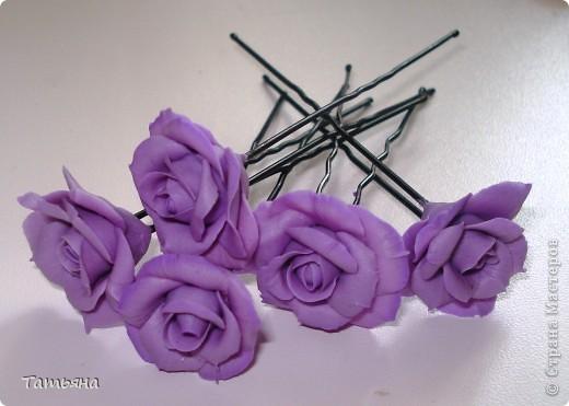 Набор украшений для дочи: шпильки, серьги и брошь  фото 3