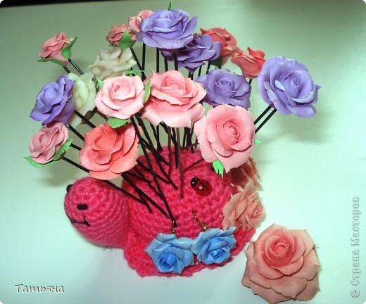 Набор украшений для дочи: шпильки, серьги и брошь  фото 4