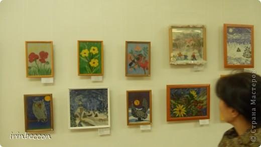 """В нашем городе была выставка """"Зеркало природы"""" на конкурс было выставлено более 700 работ ребят из разных городов нашей Республики. отобрано было 500 работ. кое-какие работы я покажу,конечно все фотографии,которые я сделала сюда не смогу выложить(их более 100 шт.) открытие. фото 7"""