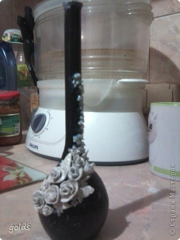 Новая проба. купила самозатвердевающую глину и решила попробовать полепить - перед пластикой. Вот что вышло. Фото конечно не ахти.. фото 2