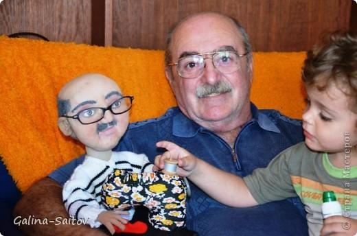 Эту куклу делала на день рождения для Михаила. У него хобби шить на швейной машинке фото 4