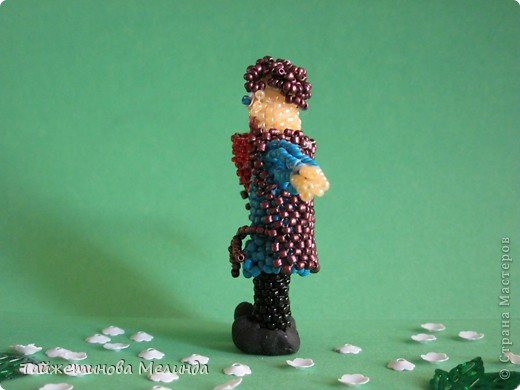 Моя превая работа на конкурс http://stranamasterov.ru/node/372481#comment-4355898 организованный  Машей (Бригантиной) замечательной мастерицей. Узнав о конкурсе долго не думала, сделала Мерлина из сериала BBC. Мерлин последний покровитель драконов, вот и сейчас драконы рядом! фото 5