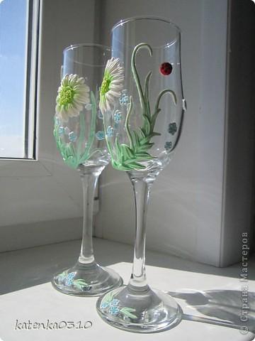 бокалы для летней свадьбы фото 2