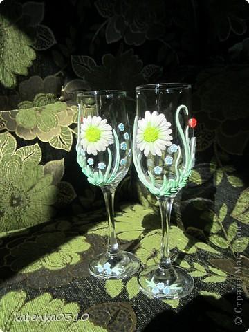 бокалы для летней свадьбы фото 1