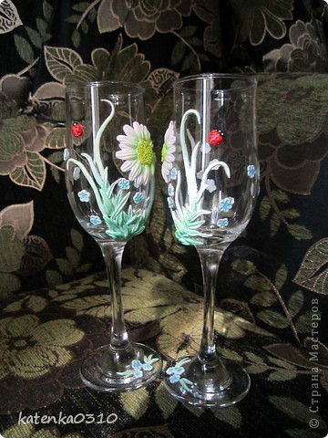 бокалы для летней свадьбы фото 3