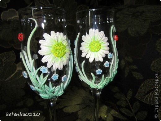 бокалы для летней свадьбы фото 7