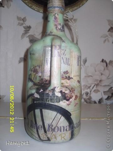 Давно стояла бутылочка и вот дождалась своего часа ! фото 2