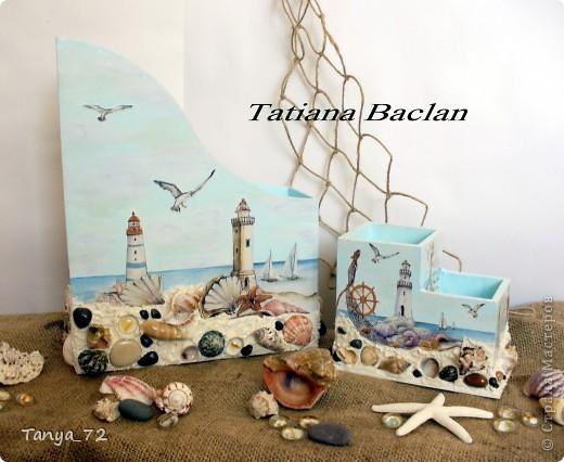"""Наборчик """"Моя мечта"""" в морском стиле. Работа выполнена по аналогии с работой Виктории (Persik). Огромное ей спасибо за вдохновение! фото 5"""