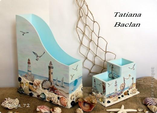 """Наборчик """"Моя мечта"""" в морском стиле. Работа выполнена по аналогии с работой Виктории (Persik). Огромное ей спасибо за вдохновение! фото 6"""