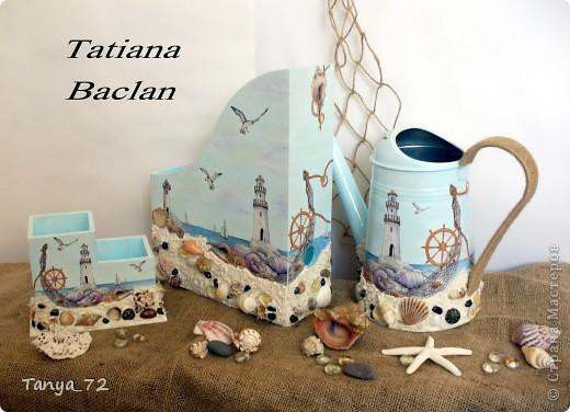 """Наборчик """"Моя мечта"""" в морском стиле. Работа выполнена по аналогии с работой Виктории (Persik). Огромное ей спасибо за вдохновение! фото 10"""