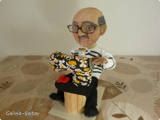 Эту куклу делала на день рождения для Михаила. У него хобби шить на швейной машинке фото 1