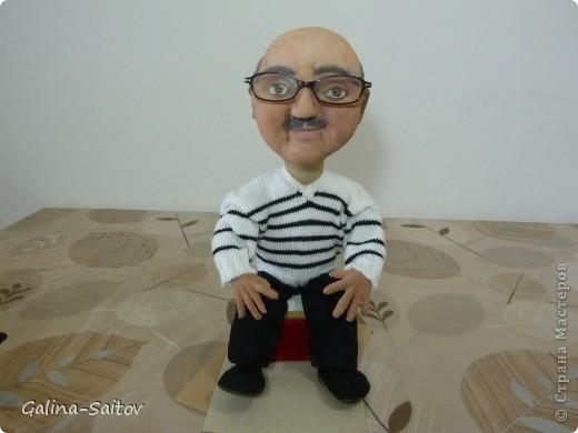 Эту куклу делала на день рождения для Михаила. У него хобби шить на швейной машинке фото 2