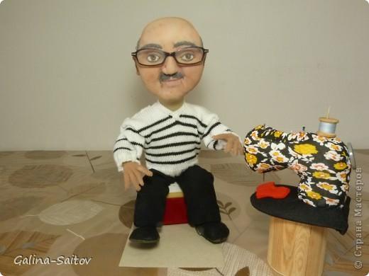 Эту куклу делала на день рождения для Михаила. У него хобби шить на швейной машинке фото 3