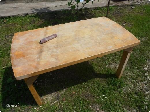 Дачный столик фото 2