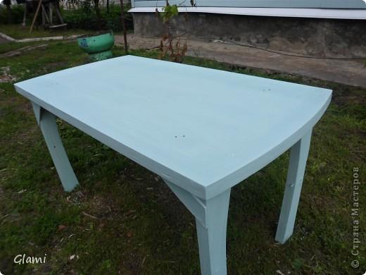 Дачный столик фото 4