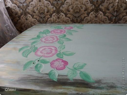Дачный столик фото 7