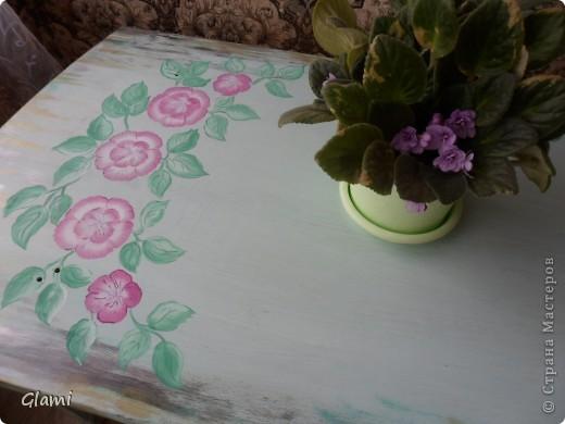 Дачный столик фото 1