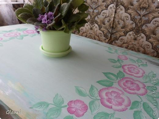 Дачный столик фото 10